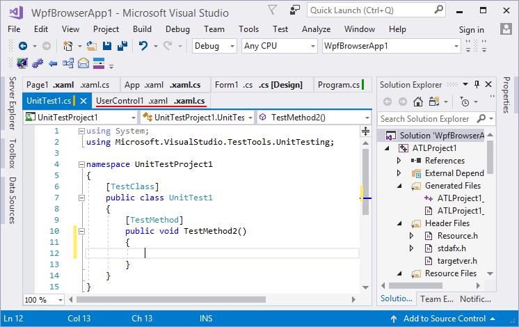 Screenshots - Tabs Studio (Visual Studio extension)